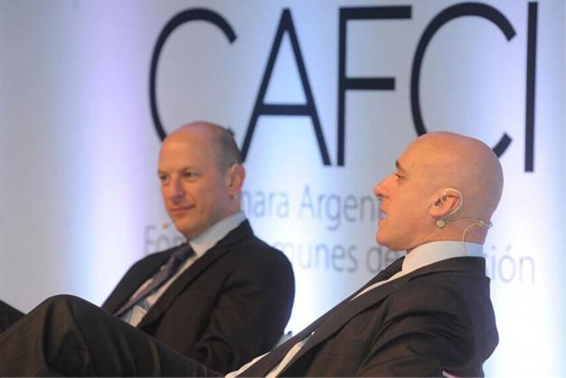 Carlos Pagni y Sergio Berestein evento CAFCI