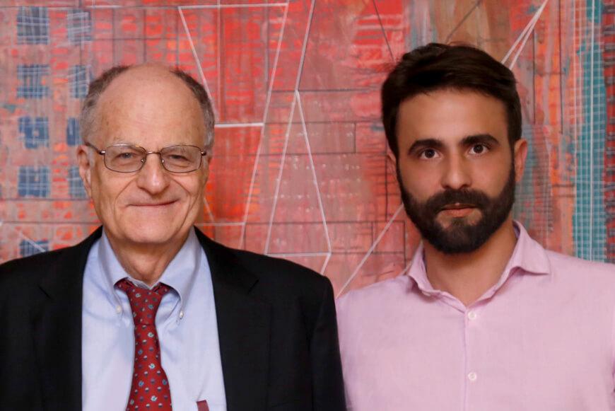 Nicolás Halac junto a Thomas Sargent para Experiencias que Transforman.