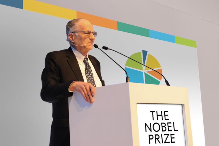Experiencias que Transforman de Nicolás Halac. Thomas Sargent, Premio Nobel.