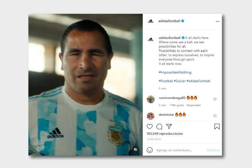 Silvio Velo Adidas para Experiencias que Transforman de Nicolás Halac