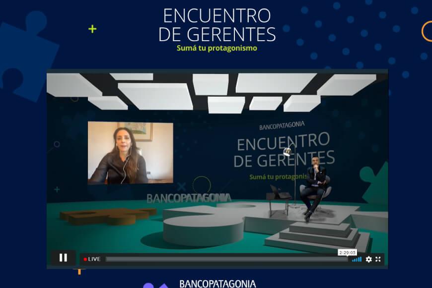 Luciana Aymar para Experiencias que Transforman de Nicolás Halac